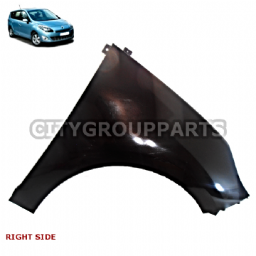 GRAND SCENIC MK3 MODELS FROM 2009 TO 2013 DRIVER RIGHT FRONT SIDE WING FENDER